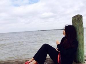 sayali by the sea