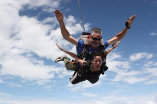 sayali skydiving